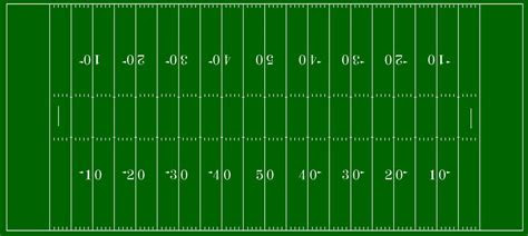football field  nfl hash marks  chenglor