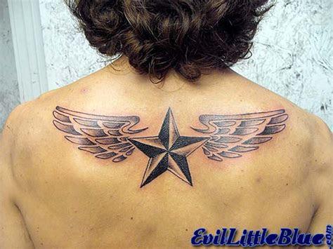 upper  nautical star tattoos