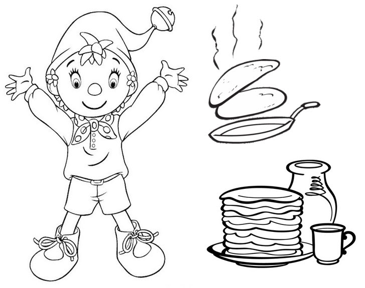 Pancake Day Colouring Pages Smartfren W