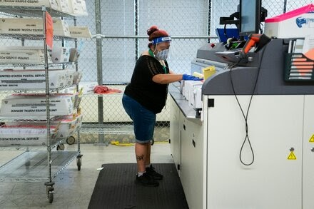 Postal Service Warns States It May Not Meet Mail-In Ballot Deadlines