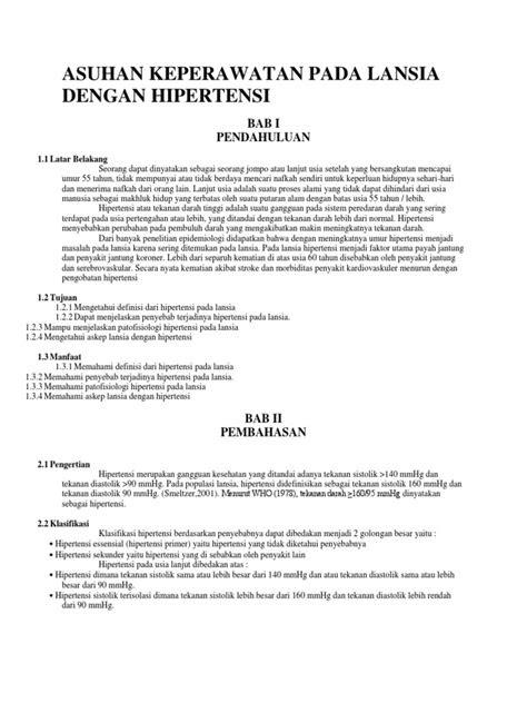 ASUHAN KEPERAWATAN PADA LANSIA DENGAN HIPERTENSI.docx