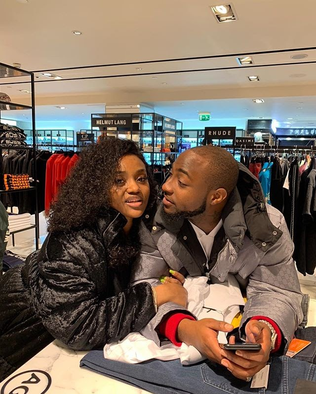 "CHIOMA CALL'S DAVIDO ""MY HUSBAND""... SEE DAVIDO'S REACTION"