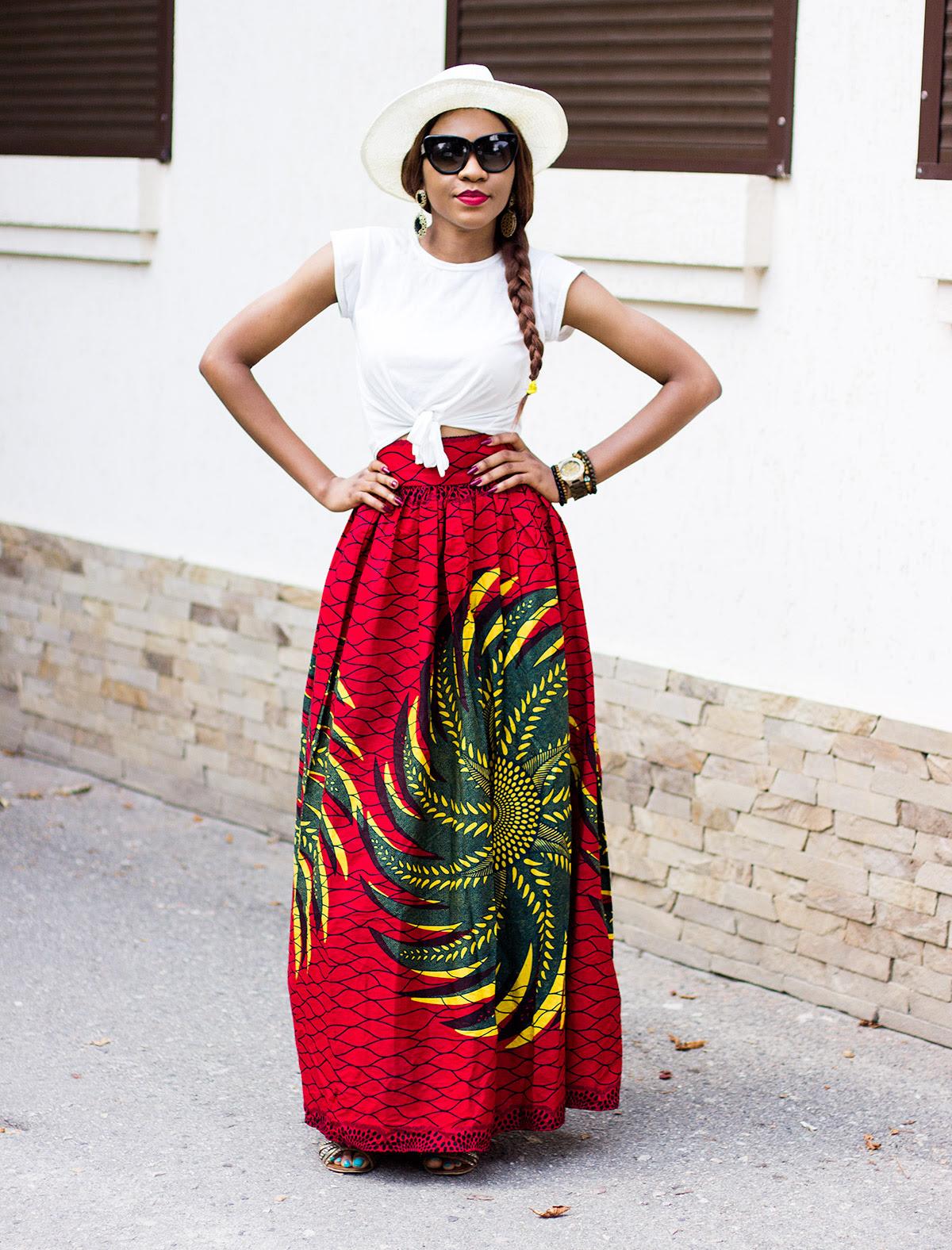 2015 ankara skirt style