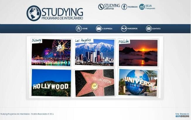 A Studying Programas de Intercâmbio oferece pacotes de viagens para estudantes que querem aprender inglês nos Estados Unidos - Valor de investimento: R$ 9,5 mil. Foto: Divulgação