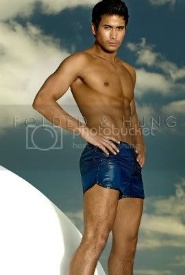 F&H Sam Milby Blue Underwear
