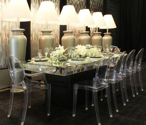 Louis Ghost Chair with Arms   Town & Country Event Rentals