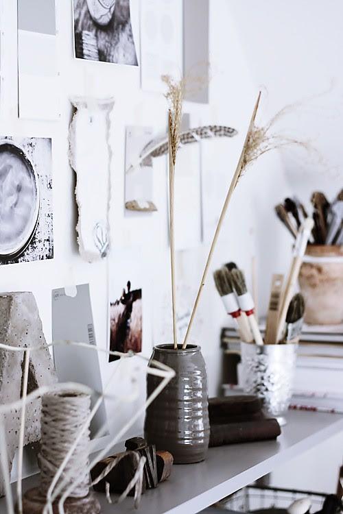 Handmade Home: Office Nook Redux