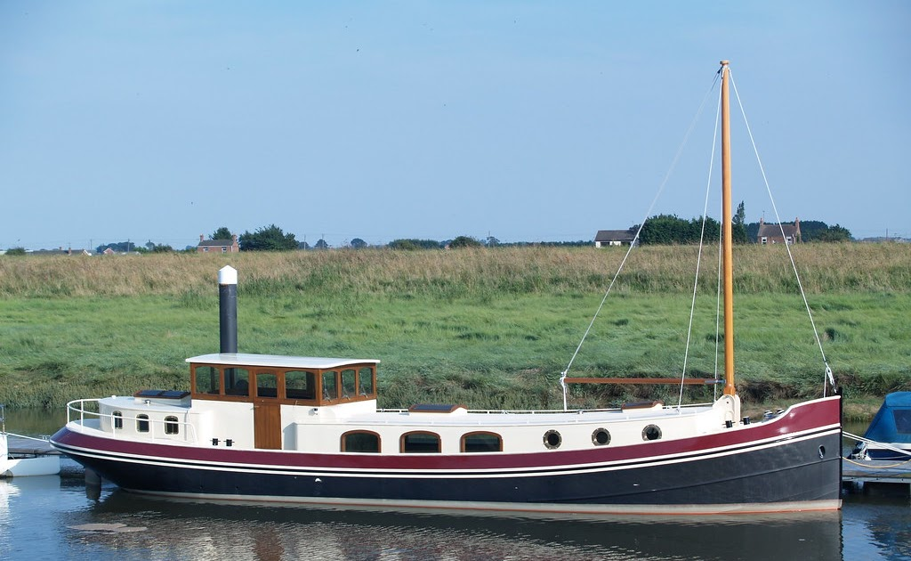 For Sale Euroship Luxemotor Barge Dutch Barge For Sale