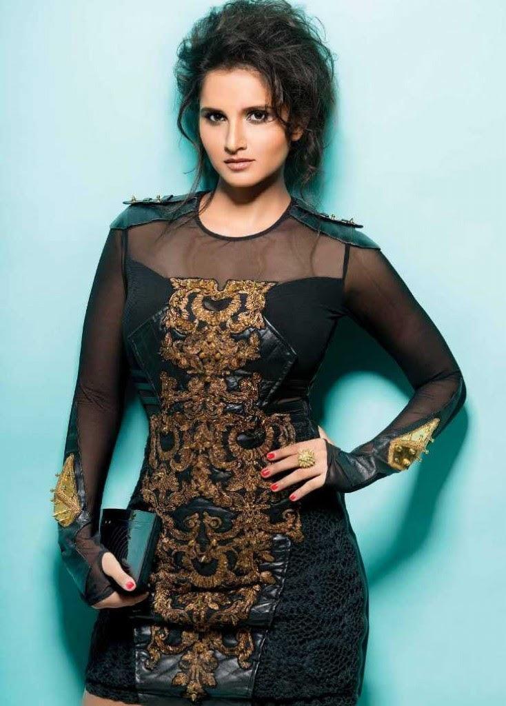 Sania Mirza Magazine Photo Shoot