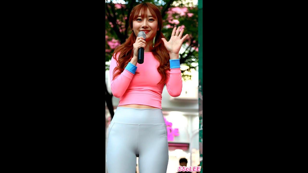 Gái xinh Hàn Quốc mặc quần bó sát khoe mu cực múp nhảy sexy dance