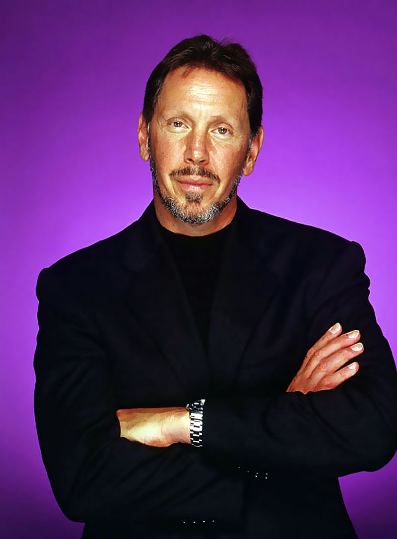 Silicon Valleys Playboy CEO Larry Ellison
