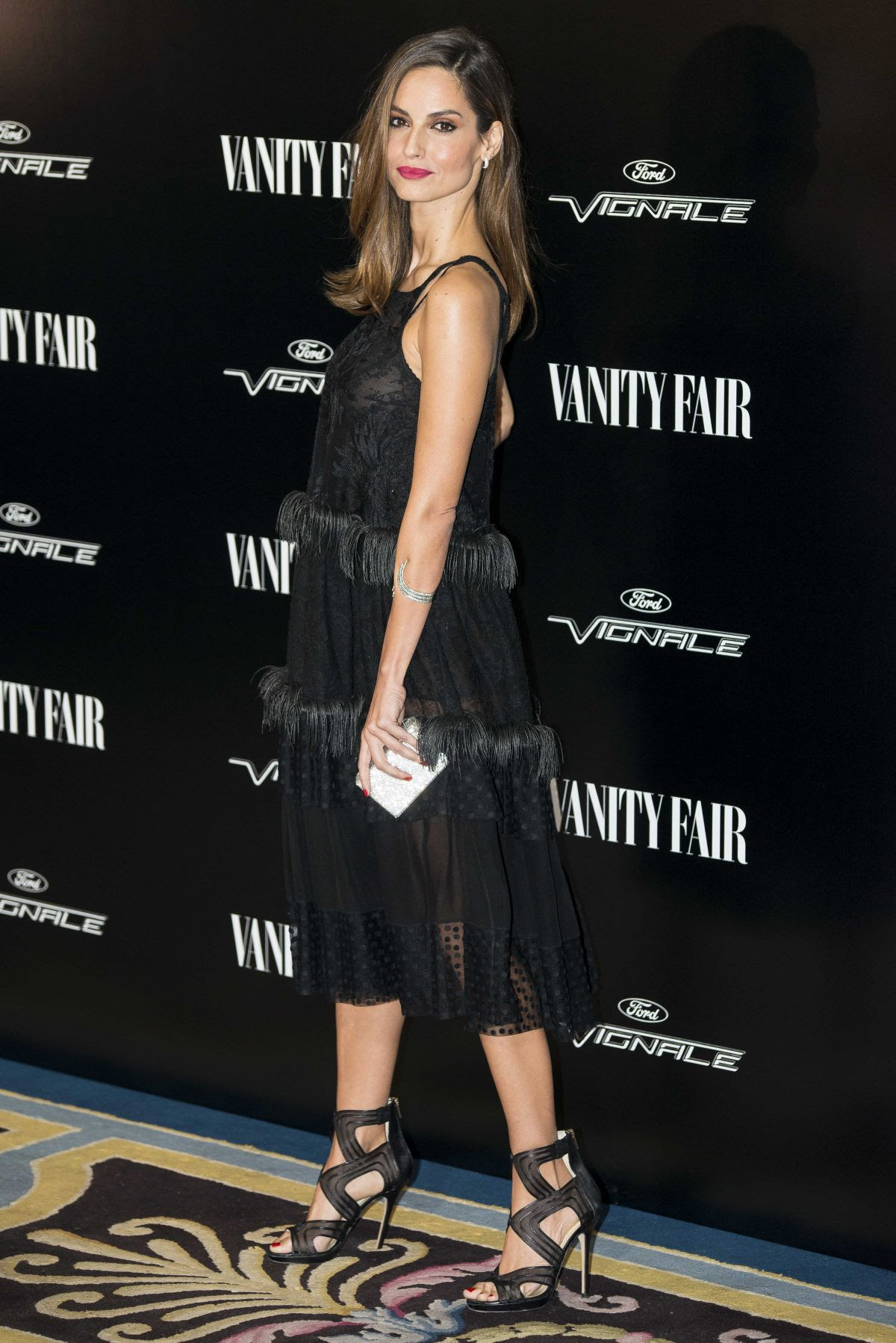 ARIADNE ARTILES at Vanity Fair Personality of the Year Gala in Madrid 11/16/2015