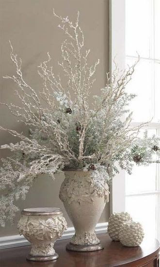 christmas decorations ideas - Iced Trellis