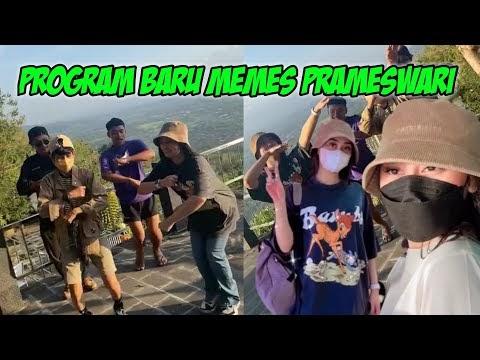 KAK MEMES PRAMESWARI SYUTING PROGRAM TERBARU JELAJAH LANGIT INDONESIA
