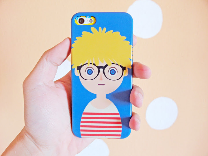 cute blonde guy iphone cover