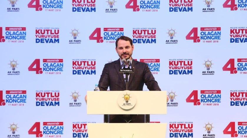 O Τούρκος υπουργός Ενέργειας Photo via Twitter @BeratAlbayrak