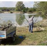 Auxonne et région | Champdôtre : nettoyage des bords de la gravière