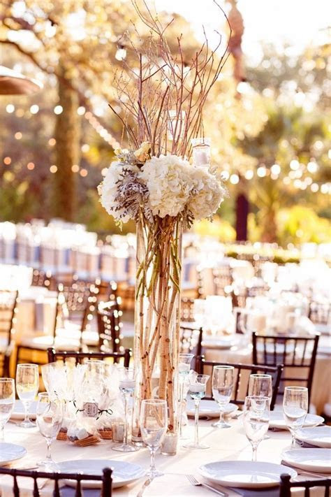 25  best ideas about Tall wedding centerpieces on