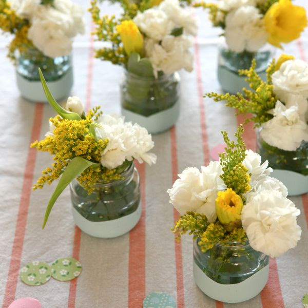 http://ohhappyday.com/2012/02/paint-dipped-baby-food-jars-diy/