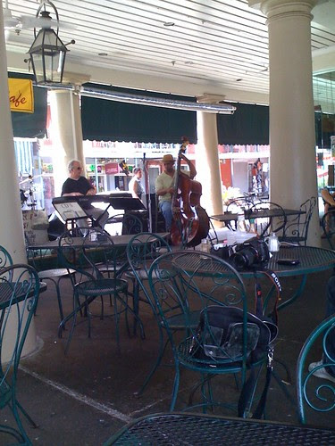 Outdoors at the Market Cafe in the French Market district