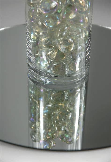 twelve   glass table centerpiece mirrors