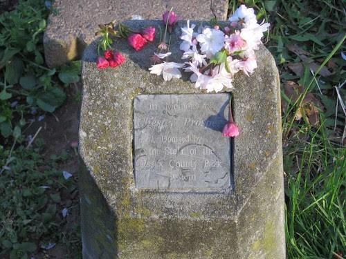 Memorial marker