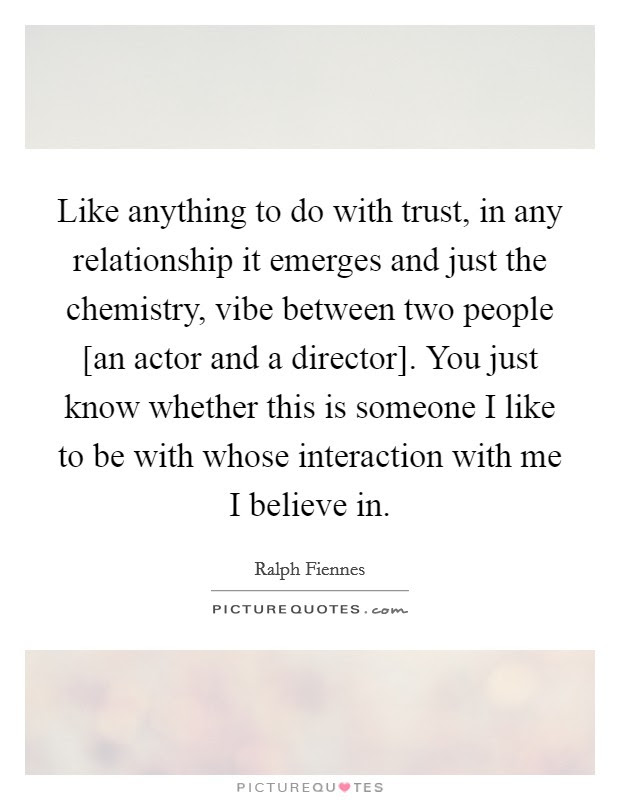 Like Anything To Do With Trust In Any Relationship It Emerges
