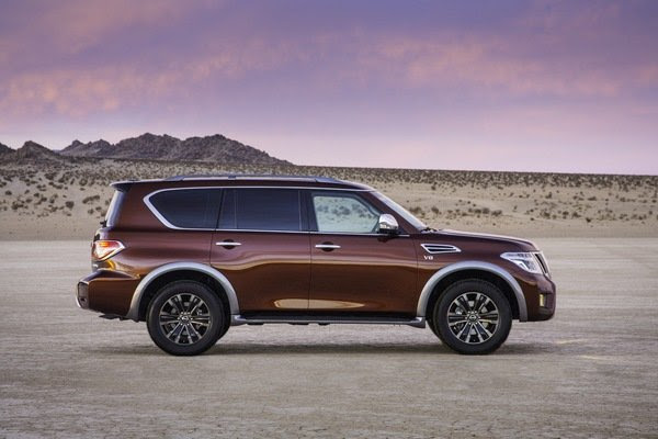 2017 Nissan Armada | truck review @ Top Speed
