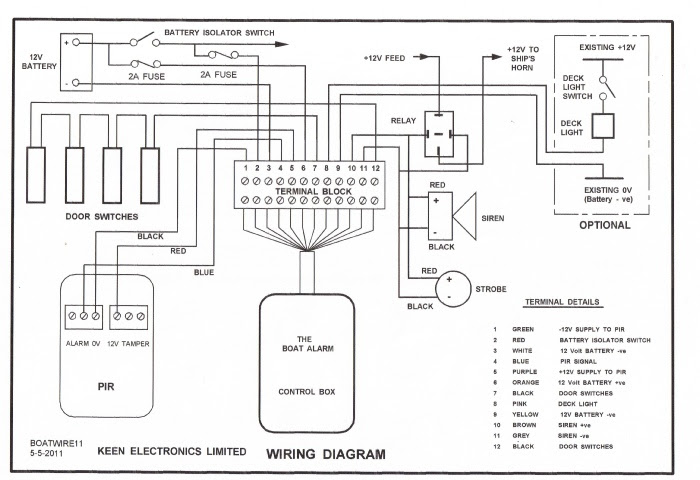 Home Security System Circuit Diagram - The Y Guide | Home Alarm System Phone Wiring Diagram |  | The Y Guide