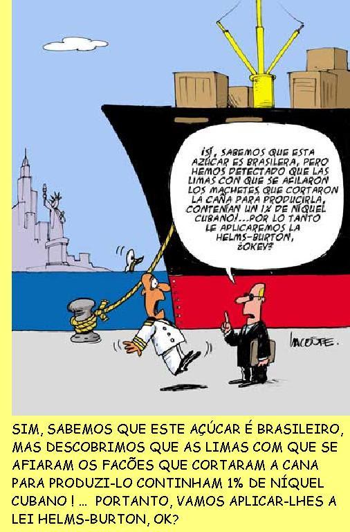 Cartoon de Lacoste.