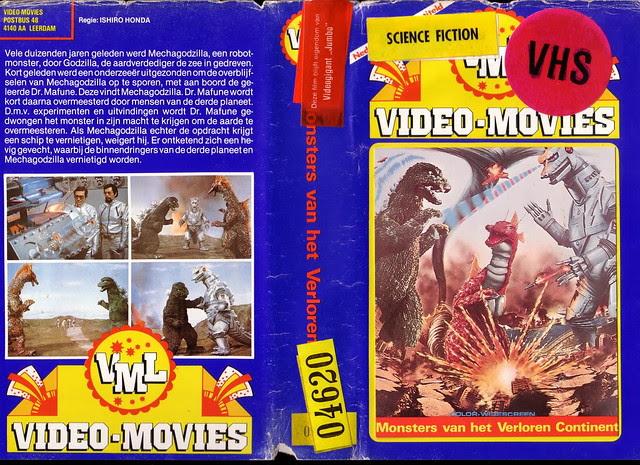 Monsters van het Verloren Continent (VHS Box Art)