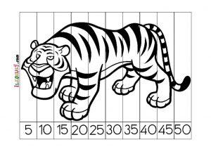 Ritmik Sayılar Yapboz Etkinliği Sınıf öğretmenleri Için ücretsiz