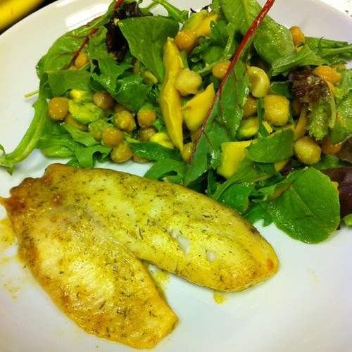 ...with Mustard Dill Tilapia!