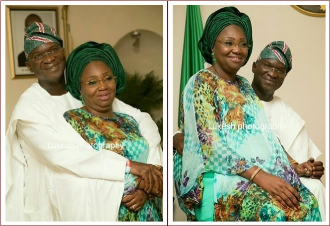 fashola and wife
