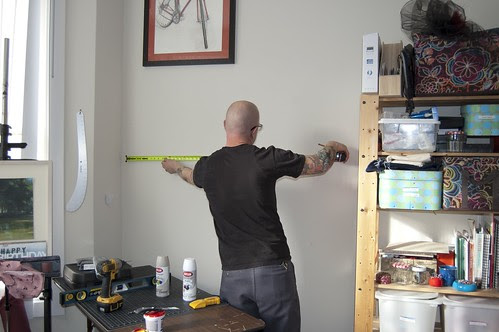 Jimmy frames the space