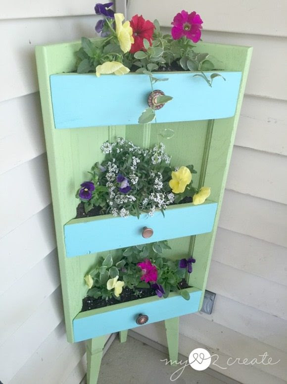 repurposed corner cabinet