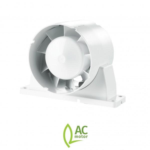 Blauberg Tubo 150mm In Line Bathroom Extractor Timer Fan