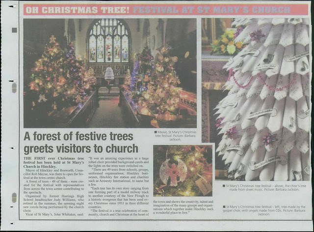 Article in Hinckley Times