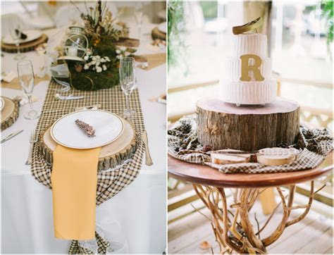 Elegant Virginia Woodland Rustic Wedding   Rustic Wedding Chic