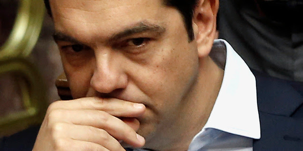 "Greece's Prime Minister Alexis Tsipras promised to return ""dignity"" to the people and reject budget cuts imposed by creditors. Photo / AP"