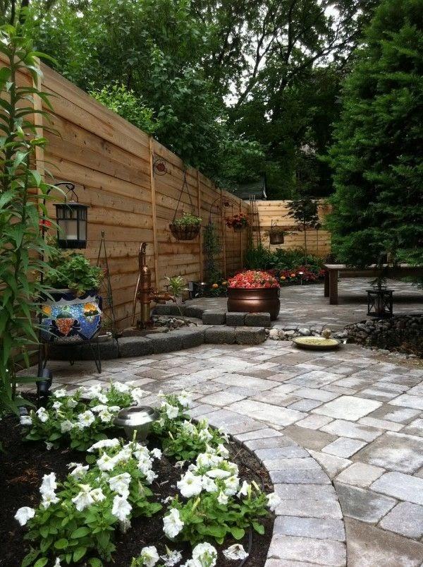 Cool Patio Backyard Landscape Design images