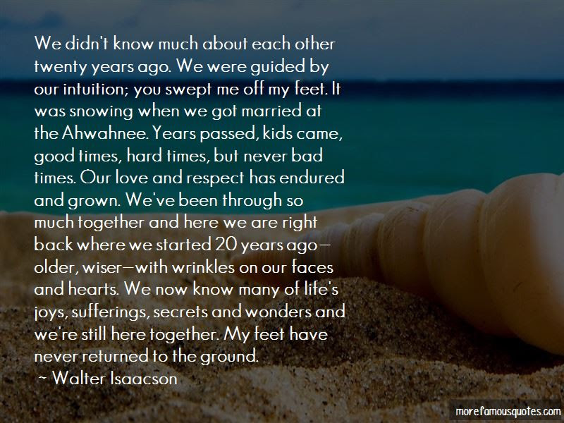 Through Good And Bad Times Love Quotes Top 7 Quotes About Through