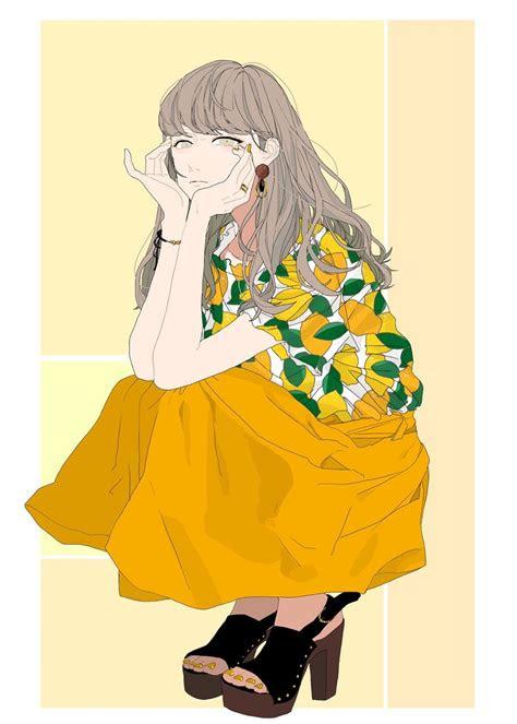 nymumko  aesthetic anime anime art girl