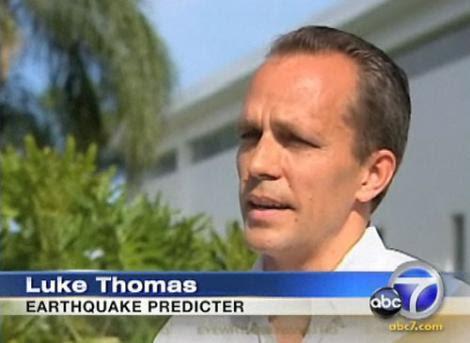 predicción de terremoto en california 2011