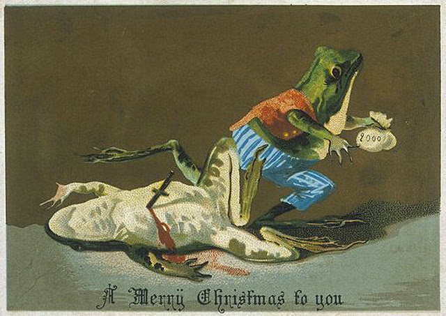 """A Merry Christmas to you"" (via Horrible Sanity)"