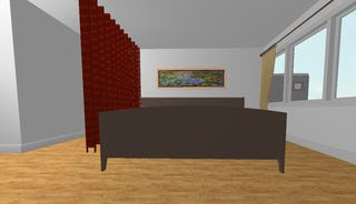 3D Bed n Painting