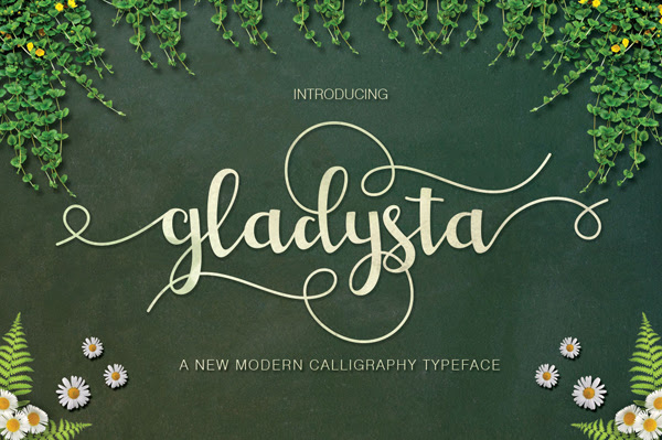 Gladysta gratuito Brush Fuente