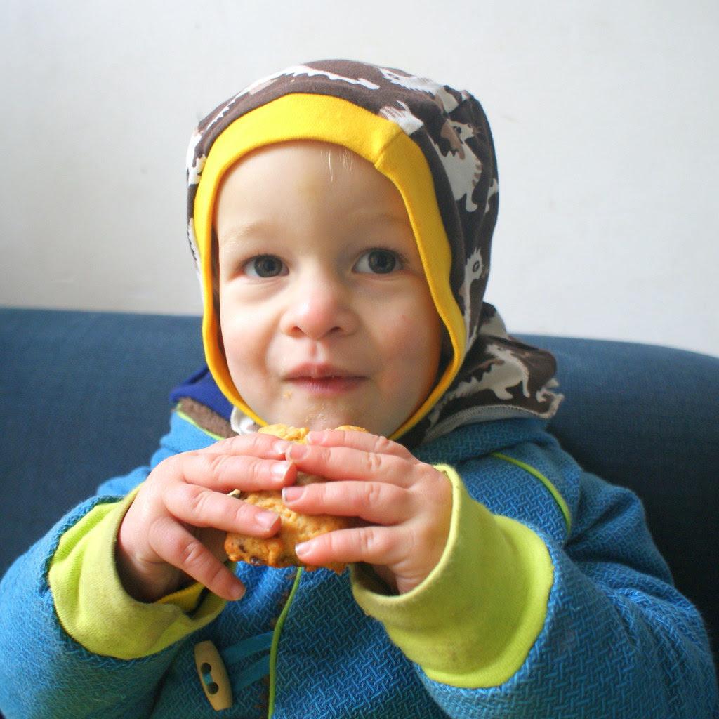 Astor eet koek
