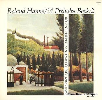 HANNA, ROLAND 24 preludes book 2