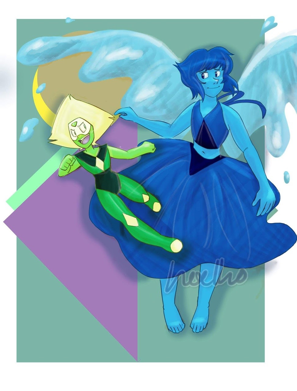 """Some Lapidot Also named """"I am horrible at backgrounds"""""""